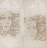 Панно Cuba Lady Hat Sketch 10311