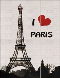 Панно I Love Paris 11764