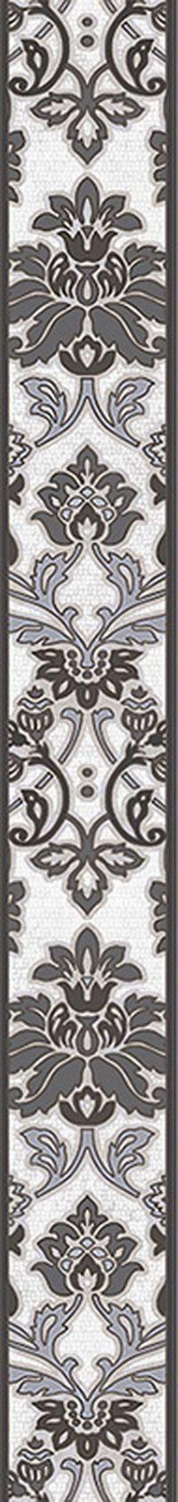 Плитка Intercerama Capriccio бордюр вертикальный серый (БВ156071)