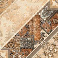 Плитка Intercerama Carpets пол коричневый темный (434384032)