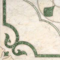 Плитка Intercerama Castello пол зеленый (17012)