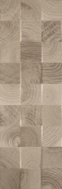 Плитка Paradyz Daikiri Wood Brown Structure Cubes  25х75