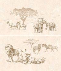 Safari декор-панно коричневый (П73031)