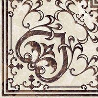 Декор Golden Tile Вулкано Пол Д11331 бежевый