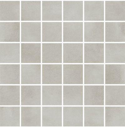 Town Soft Grey Mozaika Squares 5900652639465 25x25