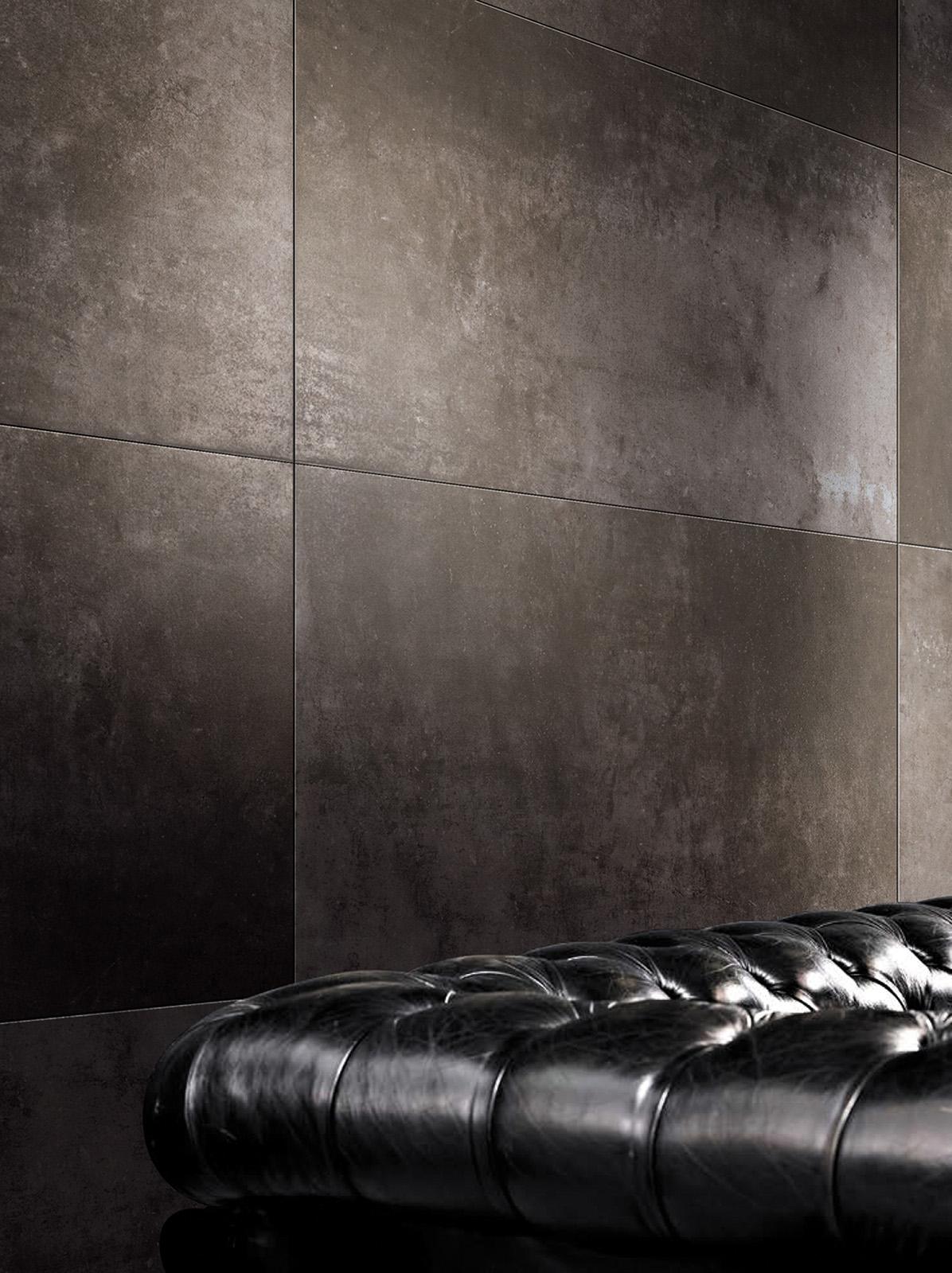 Плитка под бетон в интерьере: фото 7