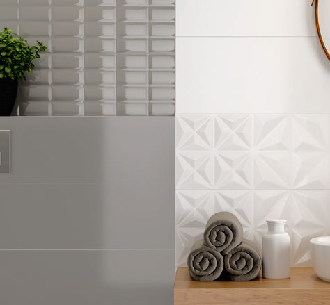 Плитка Opoczno WHITE MAGIC GREY GLOSSY 25X75