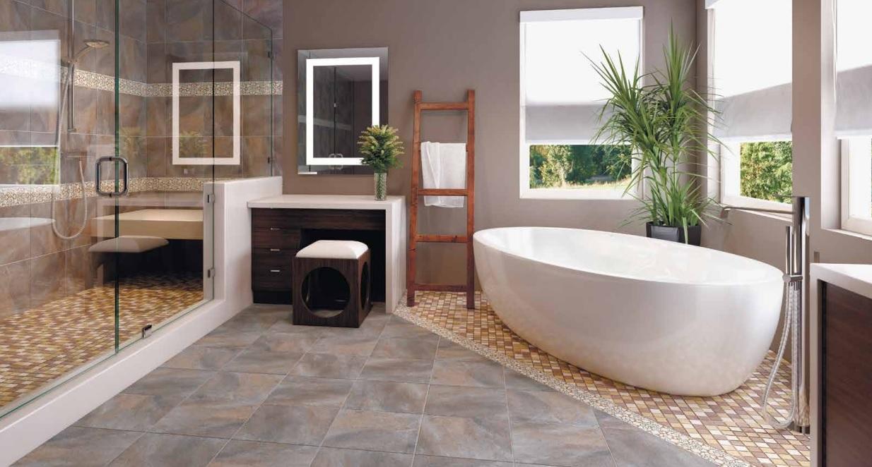 облицовочная плитка ванная